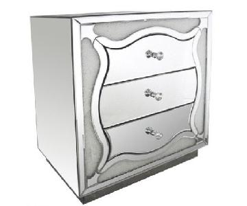Modern Mirrored Chest