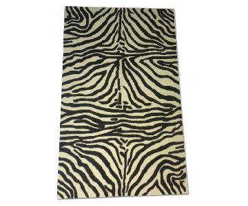 Bashian Zebra Print Rug