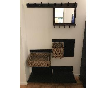 Pottery Barn Entryway Storage Organizer
