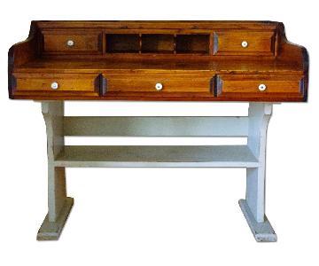 Mastercraft Furniture Vintage Wood Desk