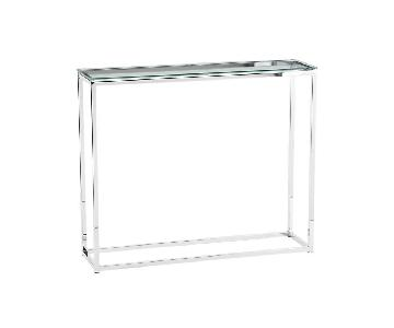 Glass Side Table/Console