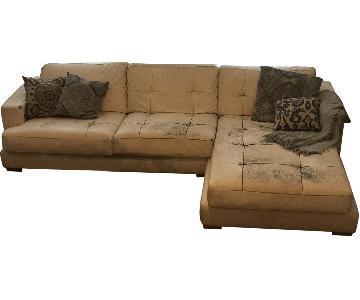 Leather Italian Sectional Sofa