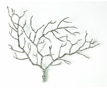 Arteriors Edwin Metal Tree Branch Wall Sculpture