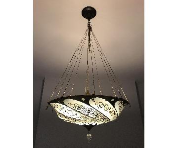 Fortuny Scudo Saraceno Silk Lamp