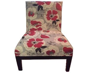 Raymour & Flanigan Rory Slipper Accent Chairs