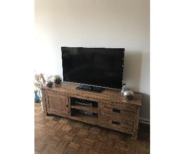 Macy's Champagne Media Storage/TV Stand