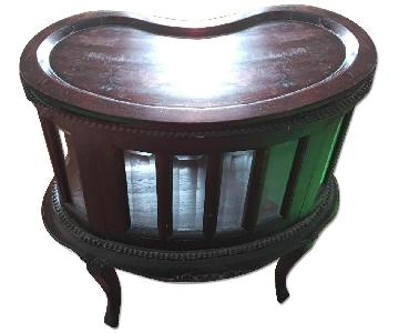 Wooden Indonesian Cabinet/Chest