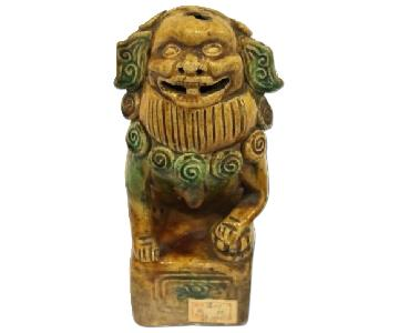 Antique Chinese Lion Article
