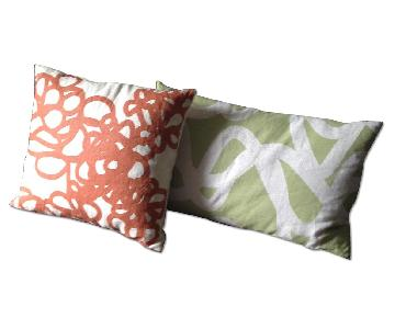 Area Inc. Linen Pillows