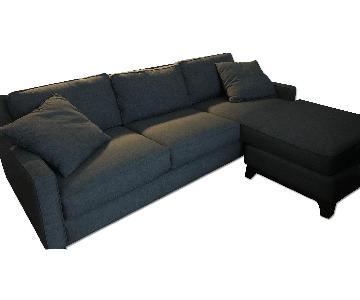Macy's Sectional Sofa w/ Chaise