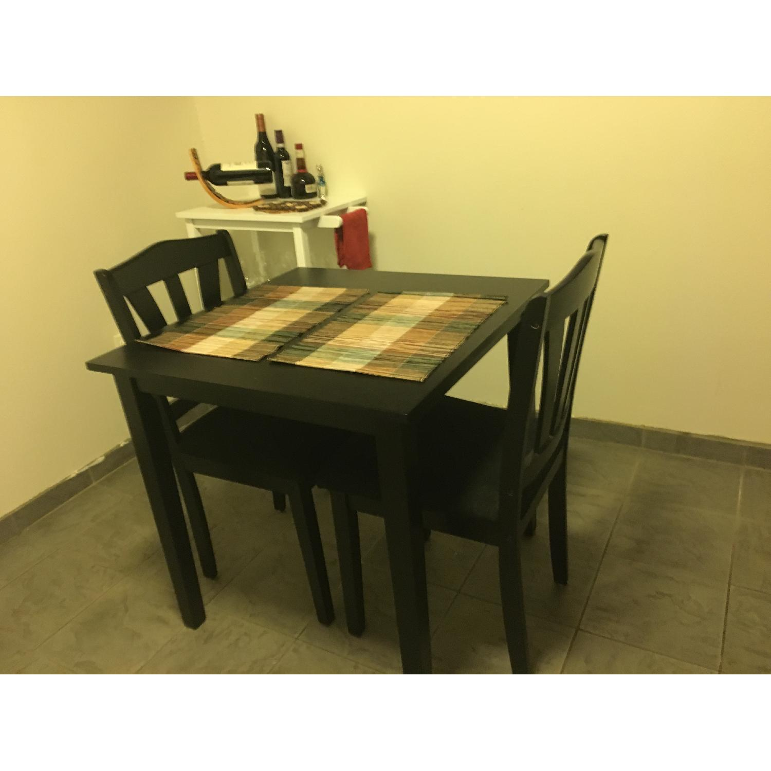 Small Square Dining Table And Two Chairs Aptdeco