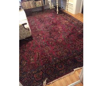 Antique Oriental Pattern Rug