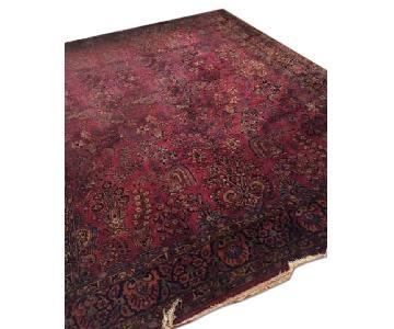 Antique Oriental Pattern Rug