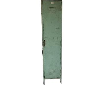 Vintage Green Locker