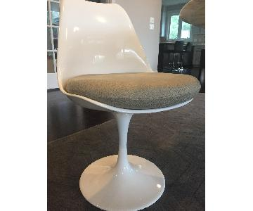 Saarinen Style Tulip Neutral Chairs