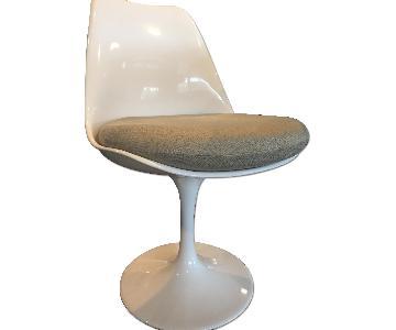 Saarinen Style Tulip Neutral Chairs