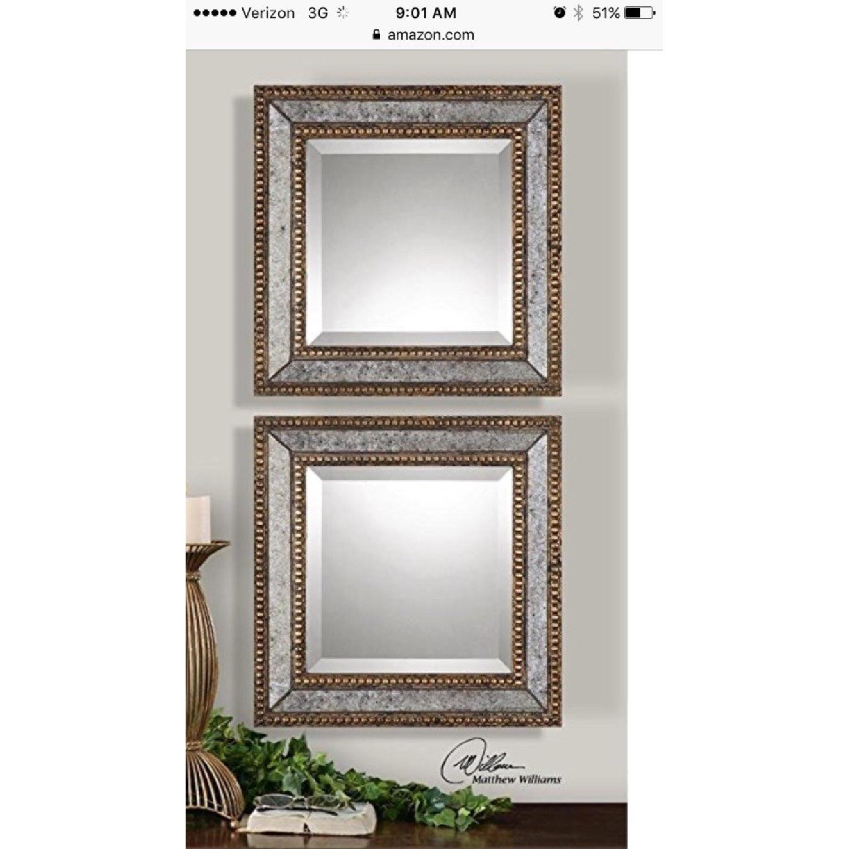 Uttermost Beveled Norlina Mirrors
