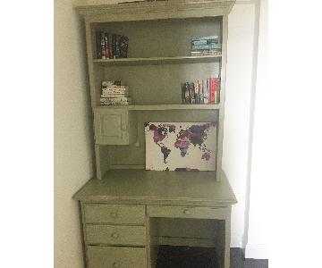Desk w/ Bookcase