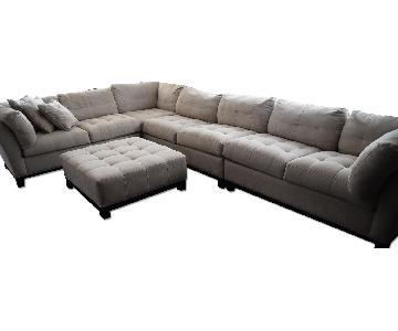 Raymour & Flanigan Cindy Crawford Home Metropolis Sectional Sofa