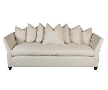 Klaussner Furniture Ivory Sofa