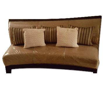 Ashley's Beige Sofa