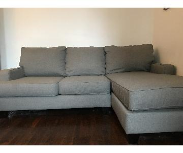 Ashley's 2-Piece Sectional Couch