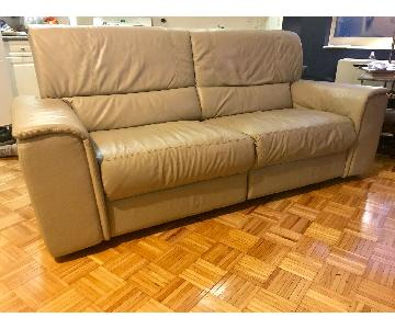 Macy's Leather Reclining Couch
