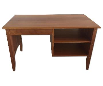 Pompanoosuc Mills Handcrafted Solid Cherry Wood Desk