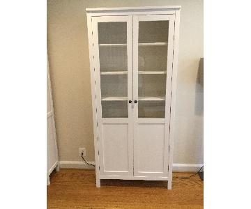 Ikea Hemnes Cabinet w/ Panel/Glass Door