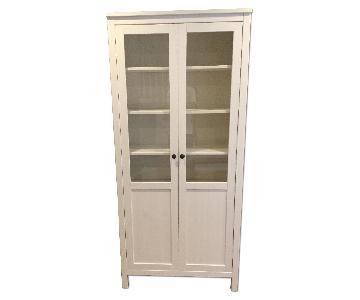 Ikea Hemnes Cabinet w/ Panel/Glass Door