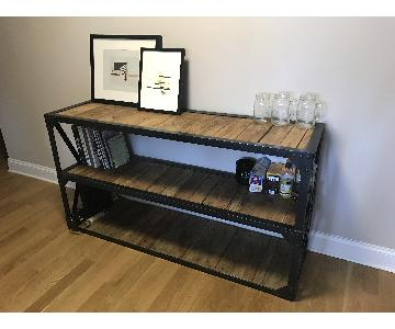 Rustic Industrial Bookcase/Media Storage