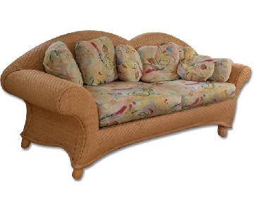 Sun Room Furniture Sofa + Chair & Ottoman