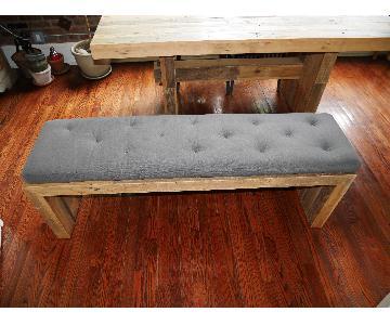 West West Elm Bench Cushion