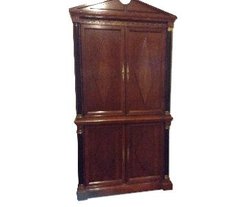 Custom Built Solid Wood Armoire