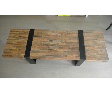 Crate & Barrel Seguro Coffee Table