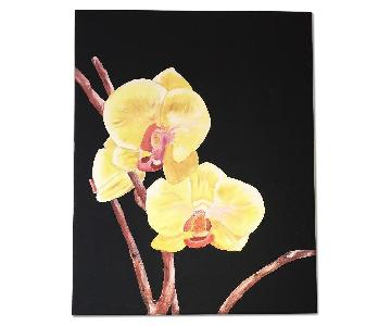 Orchid Canvas from New York Artist