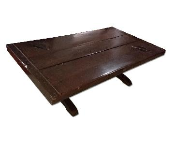Vintage WWII Liberty Ship Hatch Coffee Table