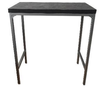 Modern Black Wood Standing Desk