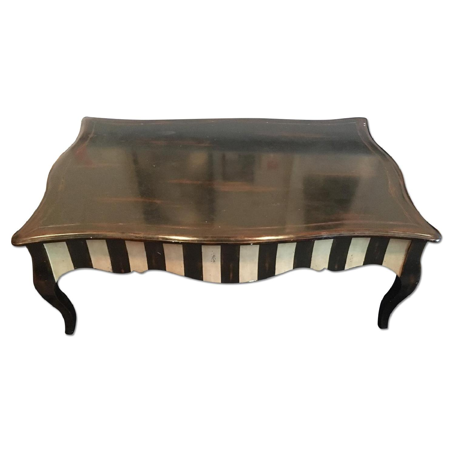abc carpet and home french country style coffee table - aptdeco