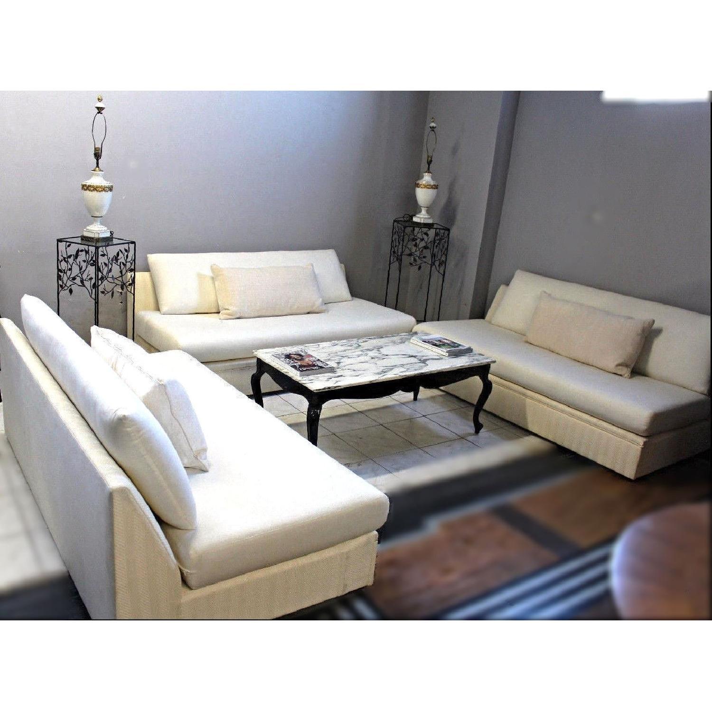Modern Armless Sofa/Settee-0
