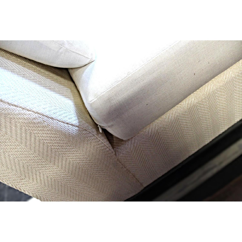 Modern Armless Sofa/Settee-1