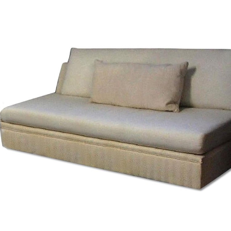 Modern Armless Sofa/Settee