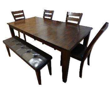 Raymour & Flanigan Kona 6-Piece Dining Set