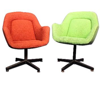 Vintage Knoll Mid Century Modern Lounge/Office Chairs