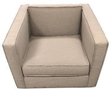 CB2 Club Chair