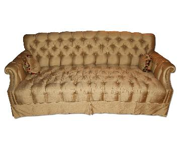 Imperial Furniture Co. Pearl Silk Couch