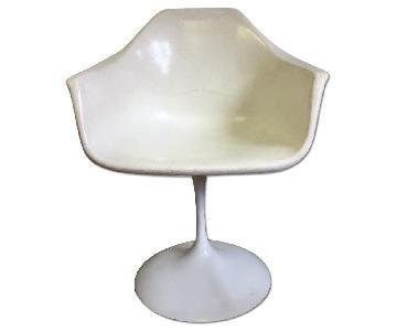 Tulip Base Fiberglass Full Swivel Chairs
