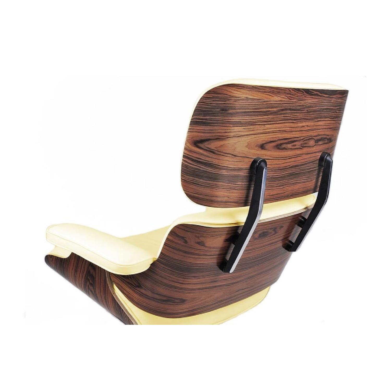 Eames Lounge Chair Replica in Cream AptDeco