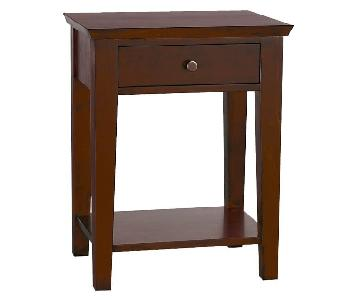 Pottery Barn Valencia Bed Side Table