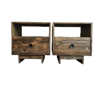 West Elm Emmerson Reclaimed Wood Nightstand in Natural